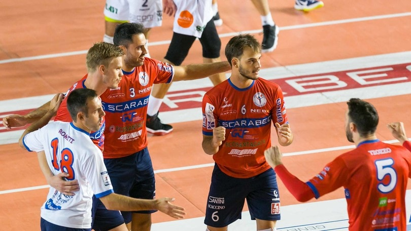 Volley: A2 Maschile, Zoppellari è il palleggiatore di Spoleto