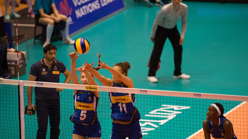Volley: Volleyball Nations League, strepitosa Italia: battuta la Serbia