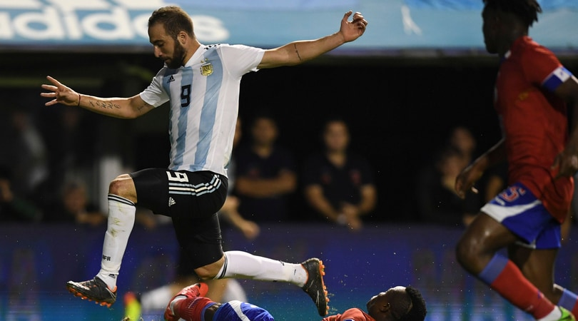 Higuain: «Il futuro? Mi piacerebbe giocare in Premier League»