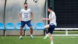 Argentina, Messi si allena nella sua Barcellona