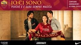 «Io ci sono»: la Roma lancia la nuova campagna abbonamenti