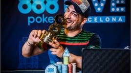 888Poker Live: a Barcellona è boom di iscrizioni. Adrian Constantin vince e porta a casa 115mila euro