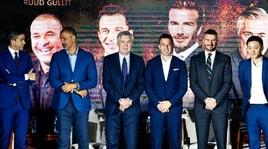 Ancelotti, lezioni di calcio fra i campioni in Cina