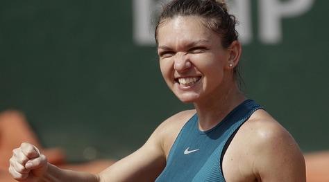 Roland Garros, l'altra semifinalista è la Halep
