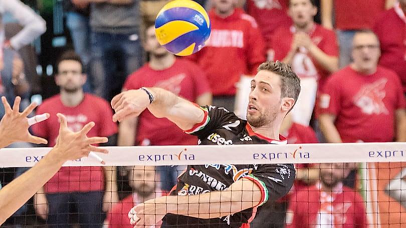 Volley: Superlega, Candellaro passa da Civitanova a Trento