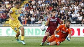 Serie B play off: Cittadella-Frosinone 1-1. Prima Paganini, poi autorete di Brighenti