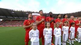 Amichevoli, Belgio-Egitto 3-0