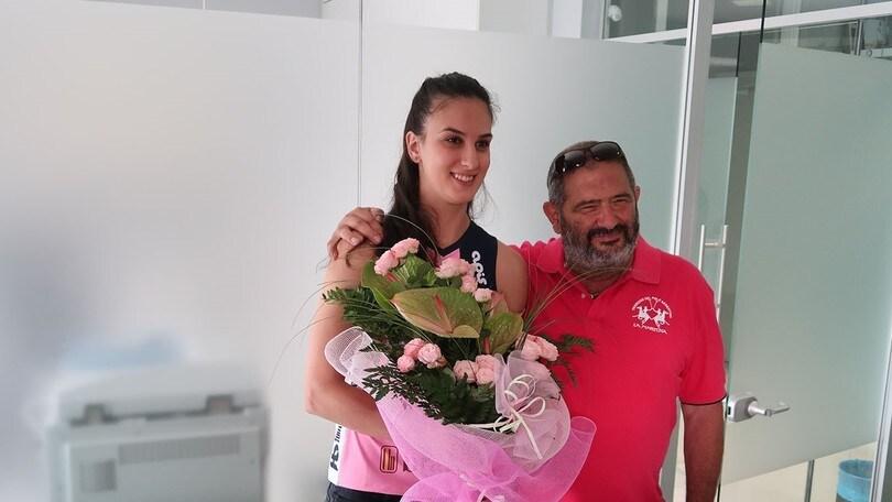 Volley: A1 Femminile, Casalmaggiore ha presentato Danica Radenkovic