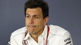 F1 Mercedes, Wolff: «Rispetto al passato la battaglia è più feroce»