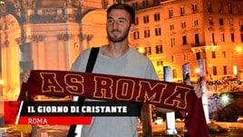 Roma, il giorno di Cristante alla Roma