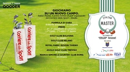 Italian Master, parte il primo torneo di golf promosso da Corriere dello Sport-Stadio