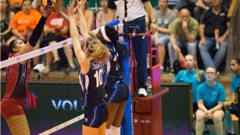 Volley: Volleyball Nations League, azzurre travolgenti con la Repubblica Domenicana