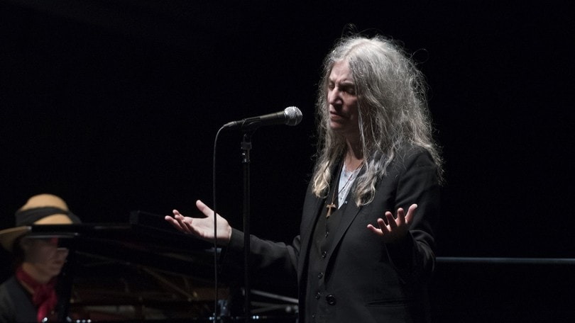 Patti Smith in concerto all'Auditorium Parco della Musica
