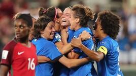 Italia-Portogallo 3-0: azzurre al mondiale!