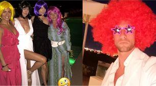 Lady Marchisio, festa sexy a Ibiza