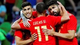 Spagna, che fatica! Solo 1-0 alla Tunisia