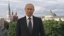 Russia 2018, il benvenuto di Putin