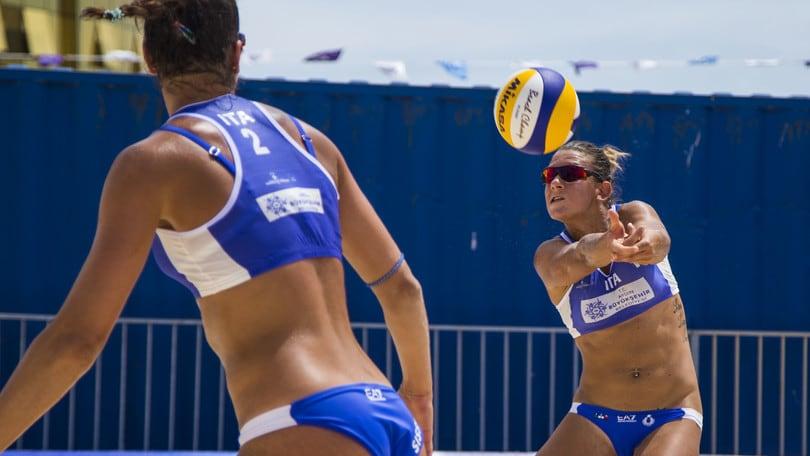 Beach Volley: a Natong Traballi-Zuccarelli si fermano in finale