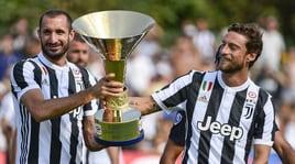 """Juventus, Chiellini già leader: «Mai stanchi di vincere». E i tifosi """"blindano"""" Marchisio"""