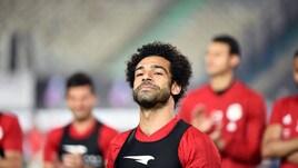 Salah al Cairo si scalda per il Mondiale