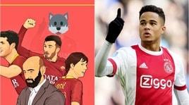 """Roma, annuncio """"mascherato"""": Kluivert in arrivo"""