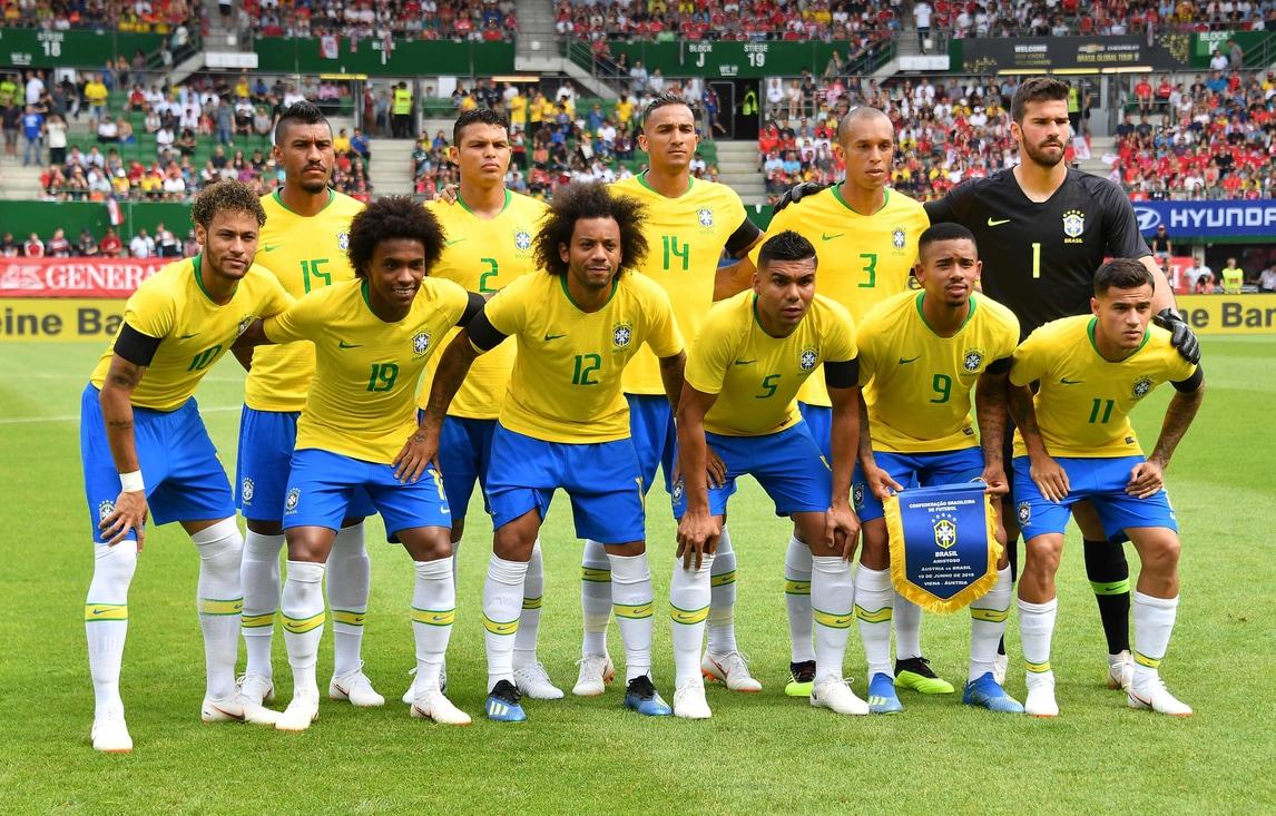 Brasile, tris all'Austria: Gabriel Jesus, Neymar e Coutinho