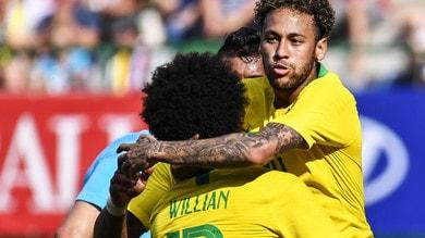 Mondiali 2018, Brasile vincente con la Svizzera a 1,40