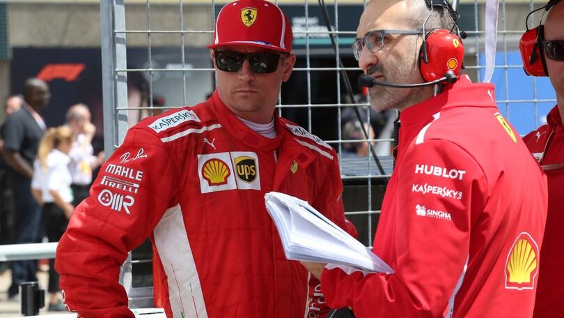 F1 Canada, Raikkonen: «L'errore in qualifica non ci ha favorito per la gara»
