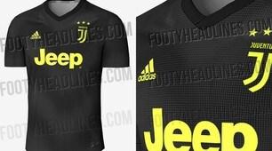 Juventus, ecco la terza maglia per la stagione 2018/19