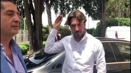 Napoli, l'arrivo di Verdi a Villa Stuart