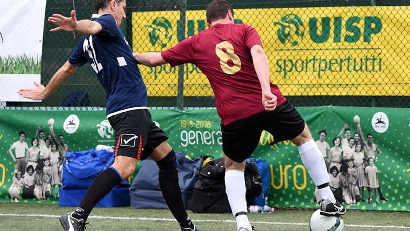 L'Uisp presenta il 1° Campionato nazionale di Calcio camminato