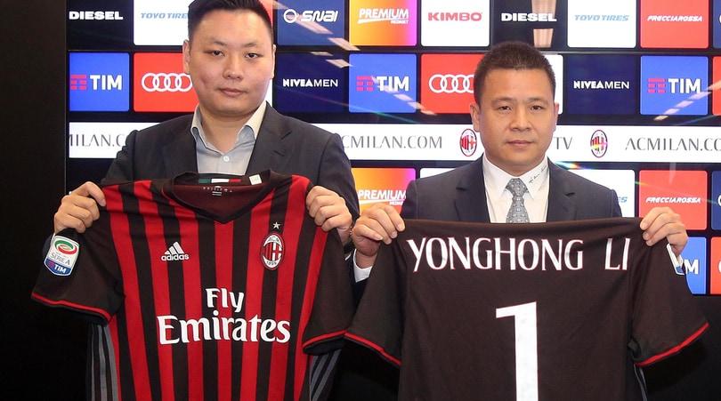 Milan, ecco chi è il nuovo socio di Yonghong Li