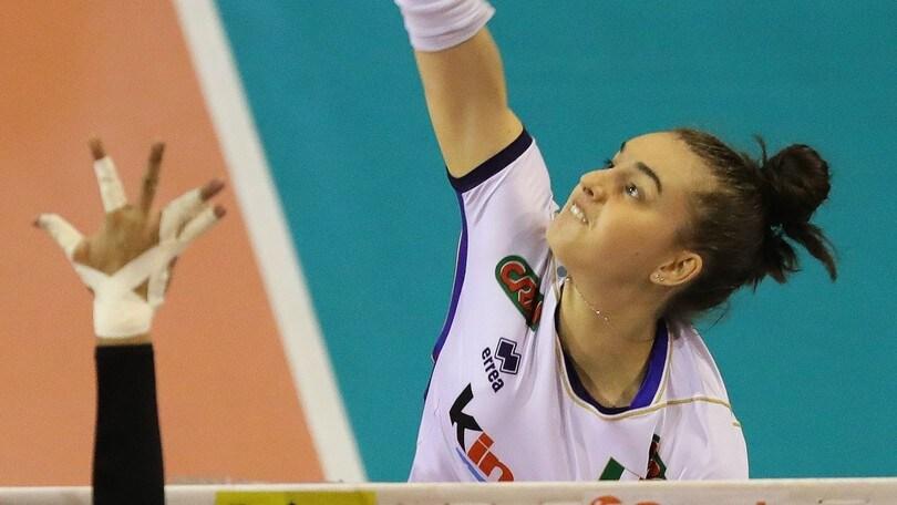 Volley: A1 Femminile, il Club Italia chiama Alessia Populini