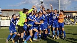 Ottavia, la società esulta dopo il titolo di campioni regionali Allievi B