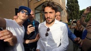 Verdi a Villa Stuart per le visite mediche con il Napoli