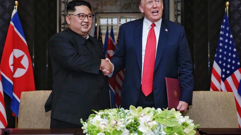 Trump, storico vertice di pace con Kim