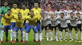 Secondo un modello matematico la finale sarà Brasile-Germania
