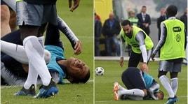 Francia in ansia: Mbappé ko in allenamento