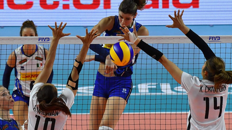 Volley: Volleyball Nations League, l'Italia è travolgente contro la Thailandia