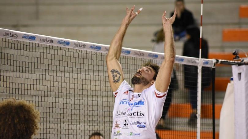 Volley: A2 Maschile, sarà Marchiani il palleggiatore di Grottazzolina