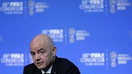 Mondiali: Fifa, Infantino si ricandida