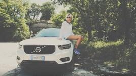 Federica Pellegrini, top model olimpica per Volvo