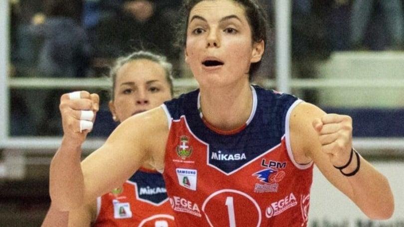 Volley: A1 Femminile, Novara chiude il roster con Erblira Bici