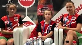 Raccattapalle, la prima volta delle ragazze al Mondiale