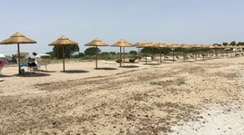 Una spiaggia sportiva per disabili
