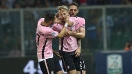 Serie B, Al Palermo il primo round: Frosinone battuto per 2-1