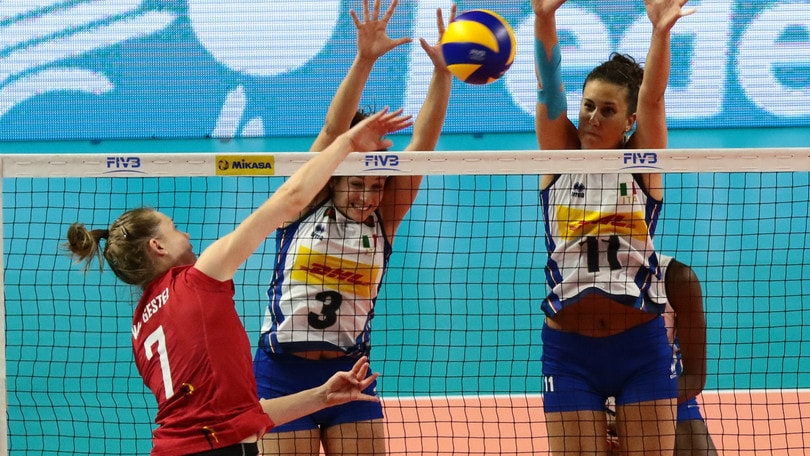 Volley: Volleyball Nations League, Italia vincente anche col Belgio