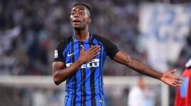 Inter, Karamoh su Instagram: «Juventus di m…». Poi le scuse