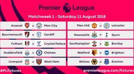 Premier League, si parte con Arsenal-Manchester City