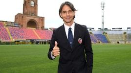 Inzaghi, primi scatti a Bologna: «Il fuoco non mi manca»